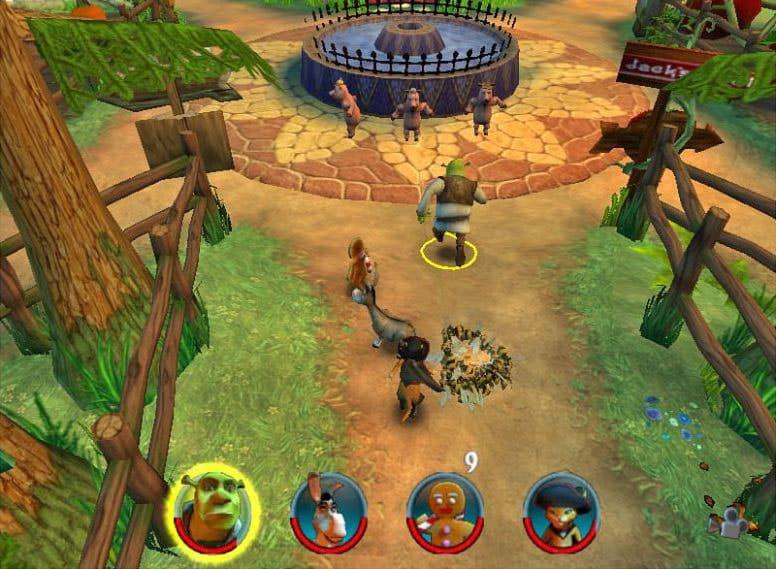 Shrek 2 The Game Download - Shrek 2 Team Action Free Download PC