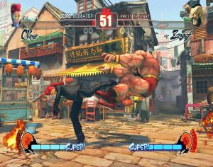 Street Fighter IV crack